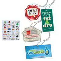 4-Color Process Air Fresheners