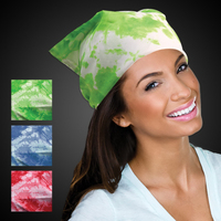 "Tie Dyed Bandanas - 19"" - Assorted Colors"