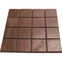 Chocolate Candy Bar Breakaway 16 Pc Square