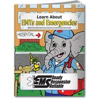 Coloring book - Learn about EMT's and Emergencies