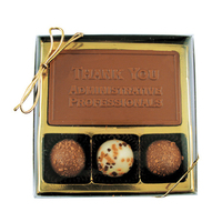 Chocolate Business Card Sampler Box