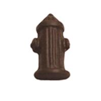 Chocolate Fire Hydrant