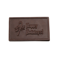 Happy Holidays Chocolate Business Card