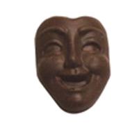 Chocolate Drama Mask Med Smile