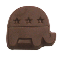 Chocolate Republican Party Elephant Small