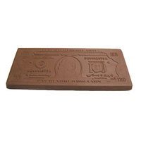 Chocolate One Hundred Dollar Bill Xlg