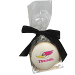 Round Shortbread Cookie with Icing in Cello Bag- Bakery Item