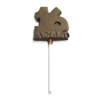 Chocolate Sweet 16 On A Stick Large