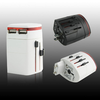 Universal Power Adapter IV with Dual USB Ports