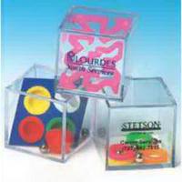 Clear Acrylic Cube Mind-Teasers