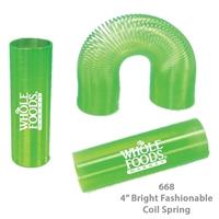 Translucent Tall Fun Coil Spring Shape Maker - Green - E668