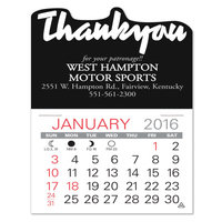 Thank You Value Stick Calendar