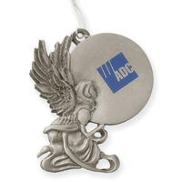 Stock Pewter Finish Ornament