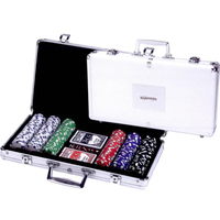 Maxam (TM) 309pc Poker Chip Set in Aluminum Case