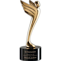 Meteor Award - Gold/Black 10 1/4""
