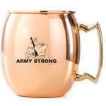 Copper Plated Stainless Steel Moscow Mule Mug,12 oz