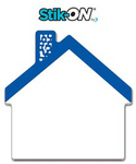 Custom Stik-ON(R) Shape Adhesive Notes - Cut from 4x4 (50 Sh