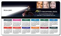 Health Calendar Magnet - 3.5x6 Round Corners - 25 mil.