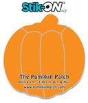 Stik-ON(R) Shape Adhesive Notes - Pumpkin (3.9x4.1) - 25 She