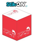 Stik-ON(R) - Adhesive Note Cubes - 2.75x2.75x2.75 - 1 Color,
