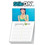Magna-Note Business Card Magnet - Stock Grocery List Stik-ON