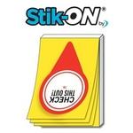 Stik-ON(R) Adhesive Notes 2x3 (25 Sheets)