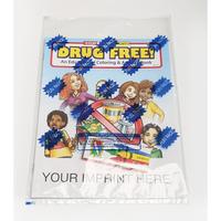 Drug Free Coloring Book Fun Pack