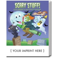 Scary Stuff Coloring Book