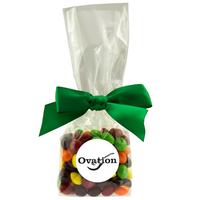 Mug Stuffer Gift Bag with Skittles Fruit Flavored Candy