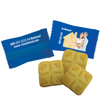 Custom Individually Wrapped Shortbread Cookie - Bakery Item
