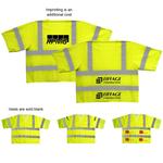 ANSI 3 Yellow Safety Vest