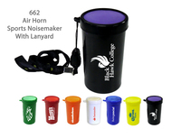Air Horn Sports & Stadium Fun Noise Maker - Black - E662LK