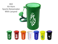 Air Horn Sports & Stadium Fun Noise Maker - Green - E662GR