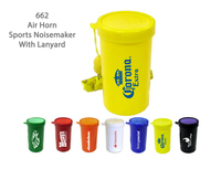 Air Horn Sports & Stadium Fun Noise Maker - Yellow - E662YL