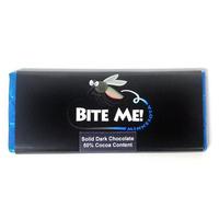 Bite Me Novelty Dark Chocolate Candy Bar