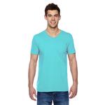 4.7 oz. 100% Sofspun (TM) Cotton Jersey V-Neck T-Shirt
