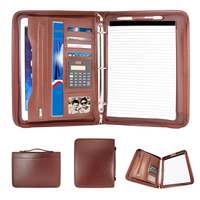 Executive Ringbinder Portfolio, Brown