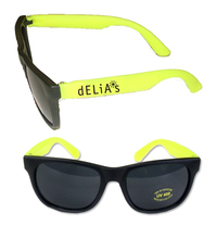 Stylish Fashion Sunglasses With UV Protection - Yellow E627