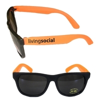 Stylish Fashion Sunglasses With UV Protection - Orange E627