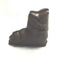 Chocolate Ski Boot 3D