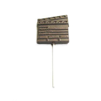 Chocolate Clap Board On A Stick