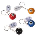 Pool Ball Key Chain
