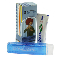 Travel Dental Kit With Toothbrush And Tootpaste