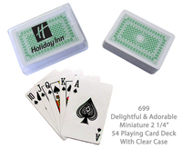 Playing Card Deck - Green