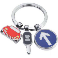 On The Road Split-Ring Keyholder