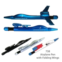 Airplane Ballpoint Pen Blue - #E738BLUE
