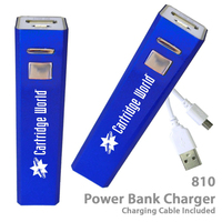 Superior 2200 mAh Power Bank Portable Charger 810-Light Blue
