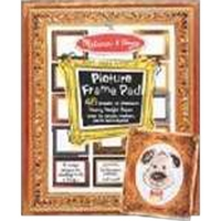 Picture Frame Coloring Activity Pad