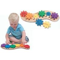 Rainbow Caterpillar Gear Toy