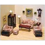 Living Room Furniture and Accessory Set